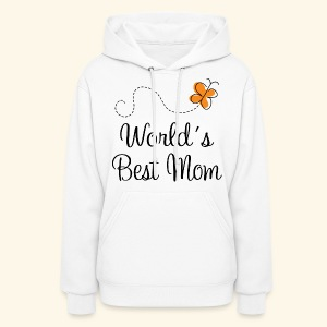 Mom (World's Best) Womens Hoodie For Mother's Day - Women's Hoodie