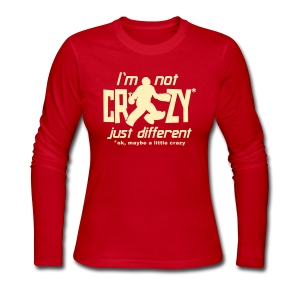 I'm Not Crazy (field hockey) Women's Long Sleeve T-Shirt - Women's Long Sleeve Jersey T-Shirt
