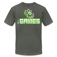 T-Shirts ~ Men's T-Shirt by American Apparel ~ Rev3Games Tee
