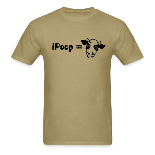 iPoop - Men's T-Shirt