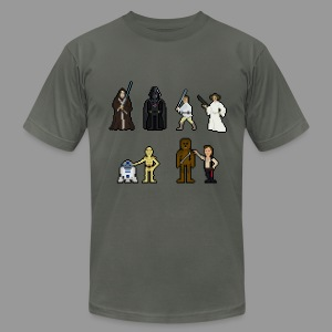 Retro Wars - Men's T-Shirt by American Apparel