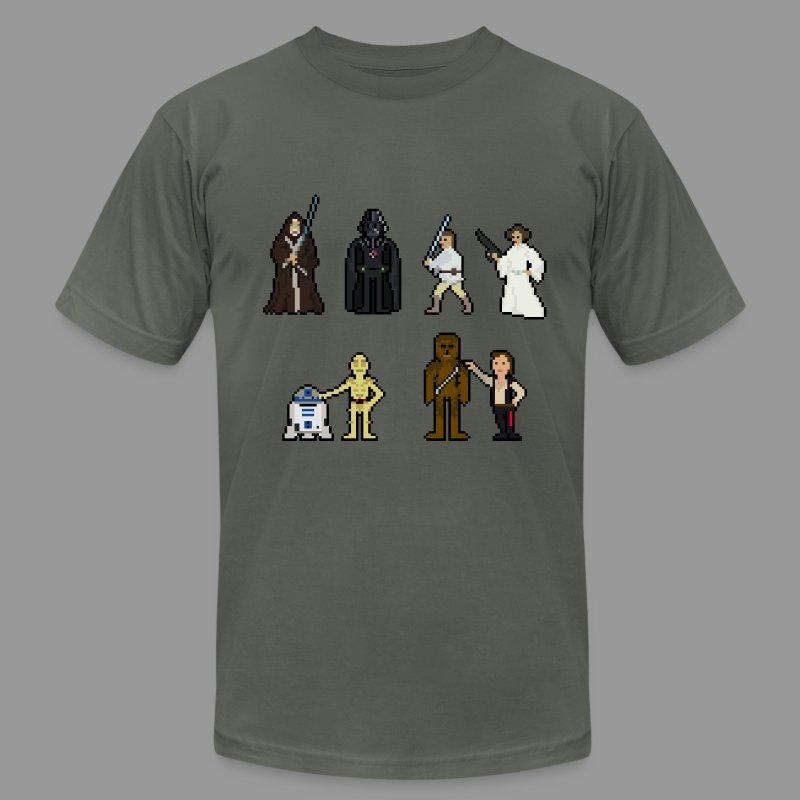 Retro Wars - Men's Fine Jersey T-Shirt