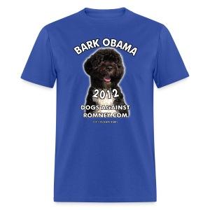 Official Dogs Against Romney Bark Obama Men's Tee - Men's T-Shirt