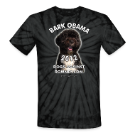T-Shirts ~ Unisex Tie Dye T-Shirt ~ Official Dogs Against Romney