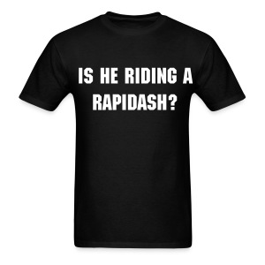 Is he riding a rapidash? - Men's T-Shirt