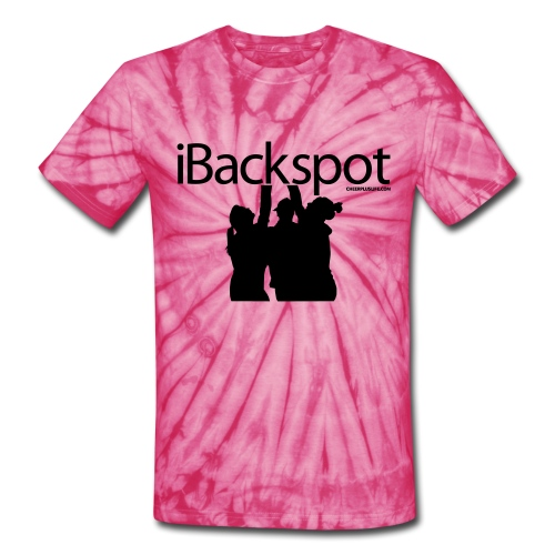 IBACKSPOT CHEERLEADING T SHIRT - Unisex Tie Dye T-Shirt