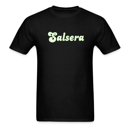 Glow in the dark Salsera T Shirt. - Men's T-Shirt