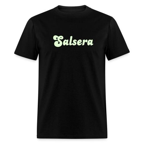 Glow in the dark Salsera T Shirt. - Men's T-Shirt