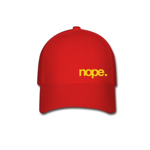 Baseball Hat - Small Nope - Baseball Cap