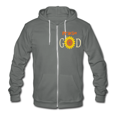 praise_the_lord_god3 Zip Hoodies/Jackets