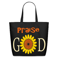 Bags & backpacks ~ Eco-Friendly Cotton Tote ~ Praise God