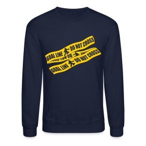 Goal Line Do Not Cross (field hockey) Men's Sweatshirt - Crewneck Sweatshirt
