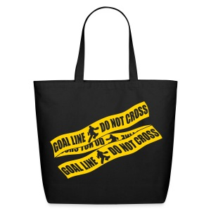 Goal Line Do Not Cross (field hockey) Tote Bag - Eco-Friendly Cotton Tote