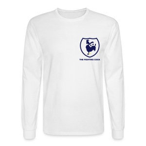 TFC Retro - White Long Sleeve T-Shirt - Men's Long Sleeve T-Shirt