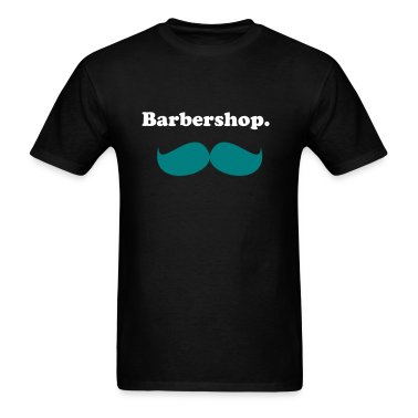Barber's Mustache T-Shirts