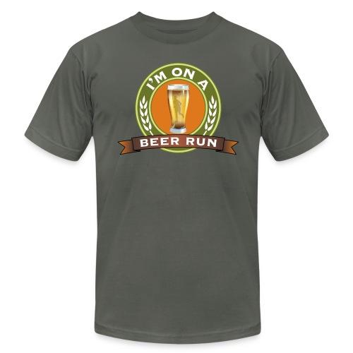 I'm on a beer run - Men's  Jersey T-Shirt