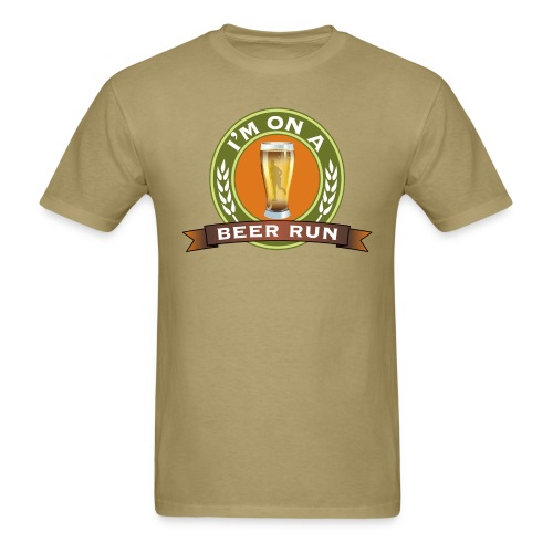 I'm on a beer run - Men's T-Shirt