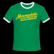 T-Shirts ~ Men's Ringer T-Shirt ~ Monongahela Monster's Coach T-Shirt