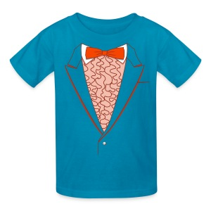 Tuxedo T Shirt Deluxe Orange Youth - Kids' T-Shirt