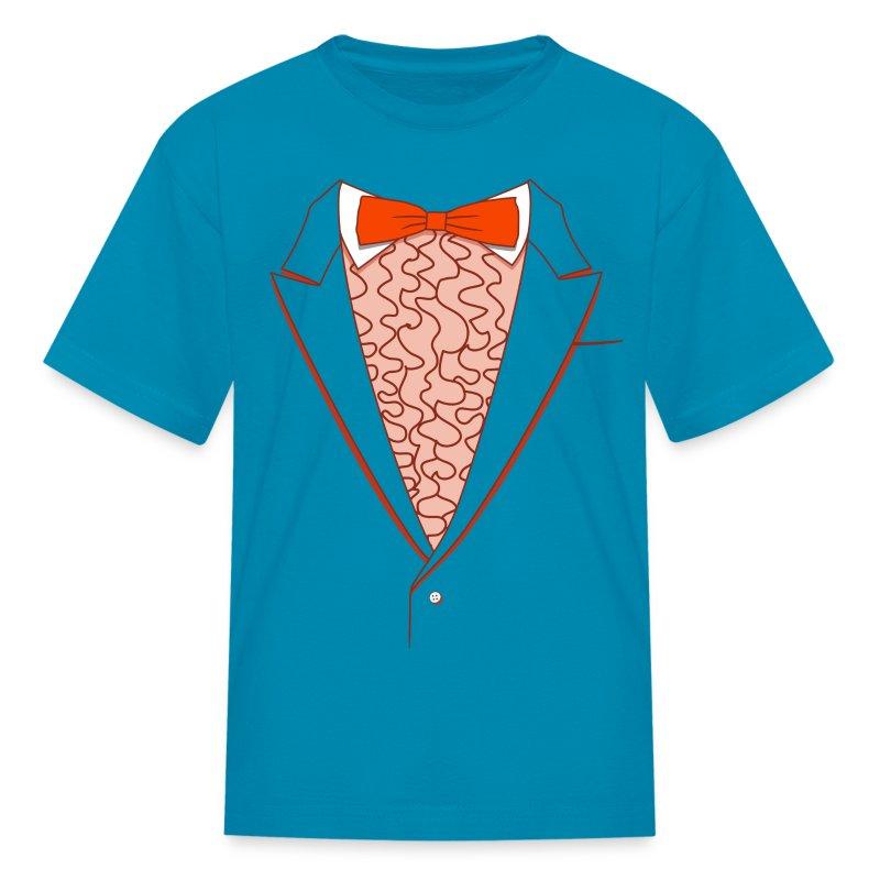 Tuxedo T Shirt Deluxe Orange Youth - Kids' T-Shirt