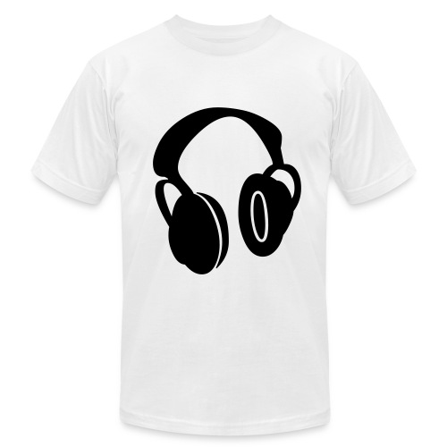 HEADPHONES - Men's  Jersey T-Shirt