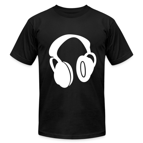 HEADPHONES - Men's Fine Jersey T-Shirt