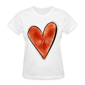 Love Tshirt - Women's T-Shirt