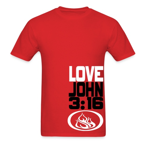 John 3:16 T-Shirt - Men's - Men's T-Shirt