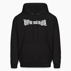 illuminati ambigram Hoodies