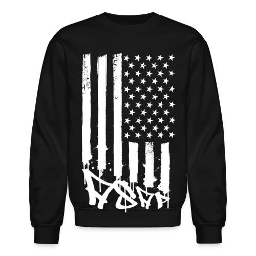 A$AP Flag ··· Blk - Crewneck Sweatshirt