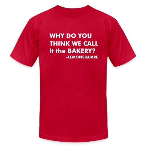 THE BAKERY (M) - Men's Fine Jersey T-Shirt