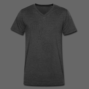A Handy Map - Men's V-Neck T-Shirt by Canvas