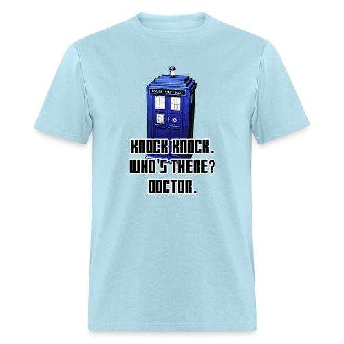 Knock Knock Tardis Tee (Mens) - Men's T-Shirt