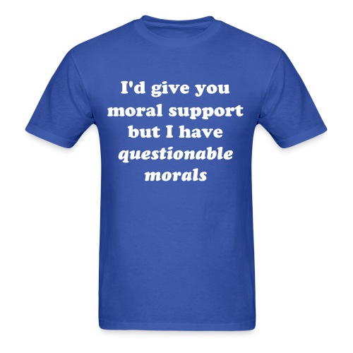 Qmorals - Men's T-Shirt