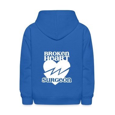 Broken heart surgeon funny design for anyone out of luck with Romance Sweatshirts