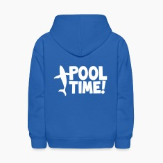 pool time! with a whale Sweatshirts