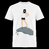 T-Shirts ~ Men's T-Shirt ~ Love as large as brontosaurus