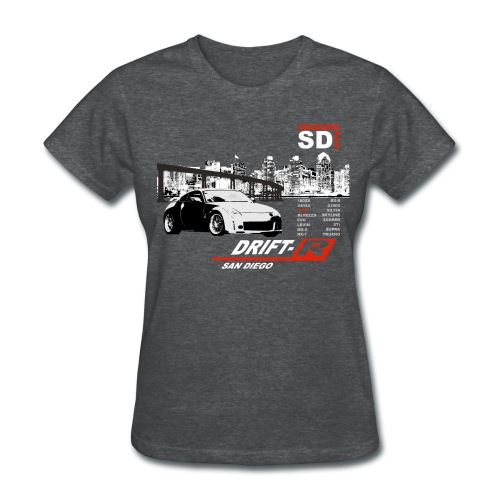 Girl's Drift Shirt. - Women's T-Shirt