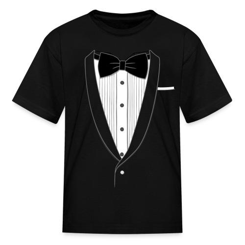 Tuxedo T Shirt Youth - Kids' T-Shirt