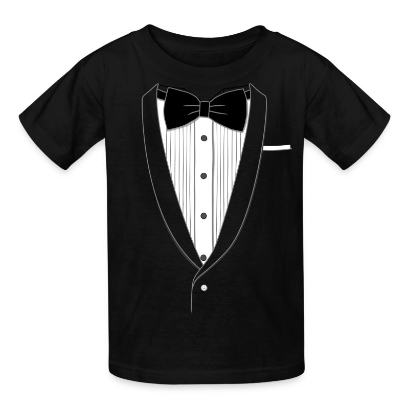 Tuxedo T Shirt Youth - Kids' T-Shirt