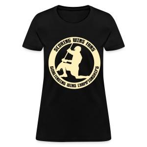 Goaltending Wins Championships (lax) Women's Standard T-Shirt - Women's T-Shirt