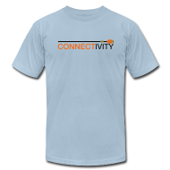 T-Shirts ~ Men's T-Shirt by American Apparel ~ Connectivity Logo T-Shirt (Premium)