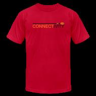 T-Shirts ~ Men's T-Shirt by American Apparel ~ Connectivity Logo T-Shirt (Premium)