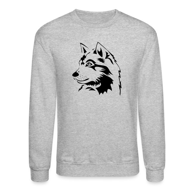 animal t-shirt wolf wolves pack hunter predator howling wild wilderness dog husky malamut