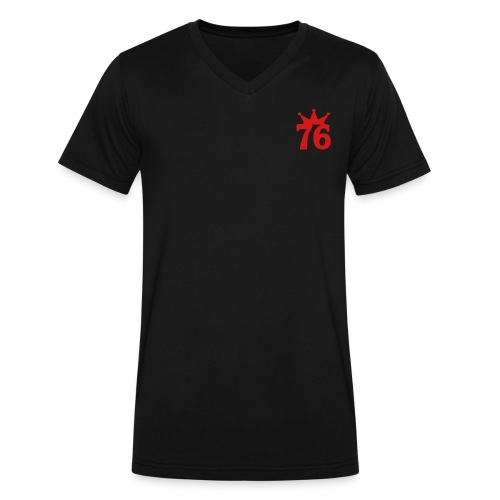 7'6 - Men's V-Neck T-Shirt by Canvas