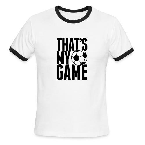 Men's Ringer T-Shirt - t-shirts,sport shirts,soccer