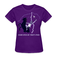 T-Shirts ~ Women's T-Shirt ~ Climb upon my trusty steed
