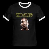T-Shirts ~ Men's Ringer T-Shirt ~ Who Shot JR? Ringer