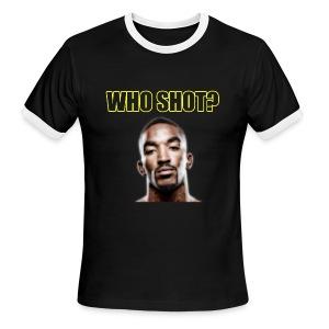 Who Shot JR? Ringer - Men's Ringer T-Shirt