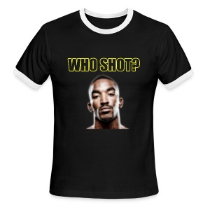 Who Shot JR? Ringer - Men's Ringer T-Shirt